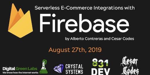 serverless E-commerce integrations with Firebase