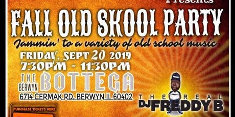 Mz Precious & Resourcez Ent Presents Fall Old Skool Party tickets
