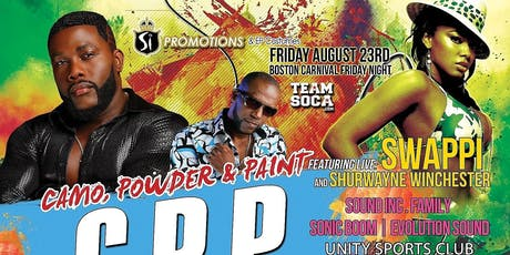 C.P.P (Camo,Powder, Paint) tickets