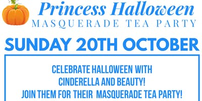 Princess Halloween Masquerade Tea Party