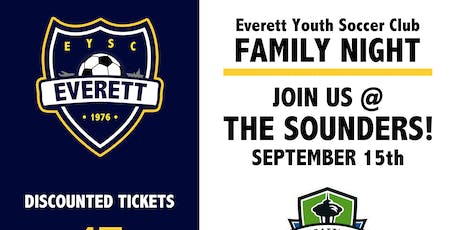 EYSC Family Night (Sounders Game!) tickets