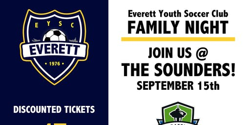 EYSC Family Night (Sounders Game!)
