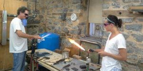 Glass Blowing Class - Shot Glass  tickets