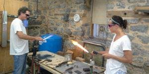 Glass Blowing Class - Shot Glass