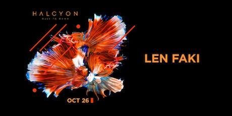 Len Faki tickets