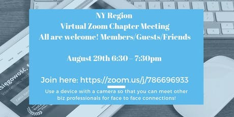 NY Region of Master Networks Virtual Networking Meeting tickets