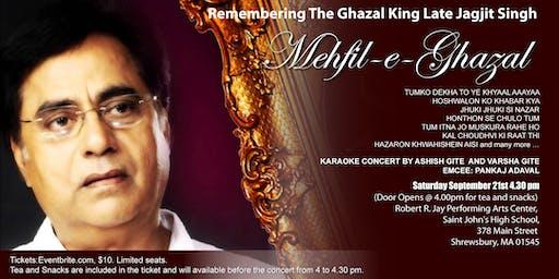 Mehfil-e-Ghazal: Remembering Ghazal King Late Jagjit Singh