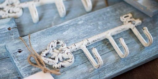 Make your own Key Rack with Lacey of Cozy Home; Designs By Lacey