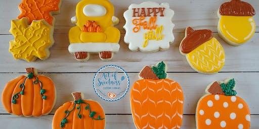 Autumn Cookie Decorating Event - beginner level
