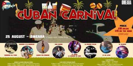 The Buena Vista Cuban Carnival tickets
