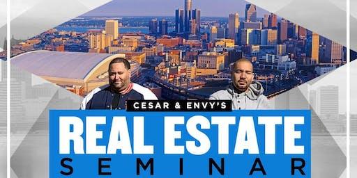 Cesar (flipping_nj) & DJ Envy's Real Estate Seminar in Houston