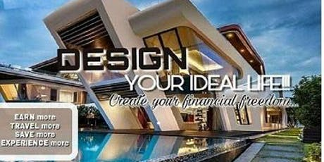 Design your Ideal Life, Create Financial Freedom & Travel tickets