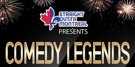 Stand Up Comedy ( Comedy Legends ) Montreal Comedy Club tickets