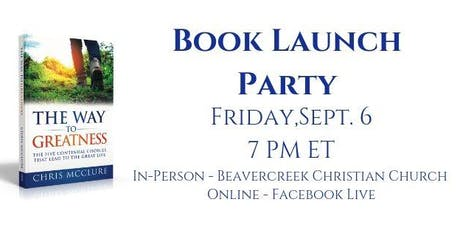 The Way To Greatness Book Launch Party tickets