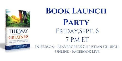 The Way To Greatness Book Launch Party