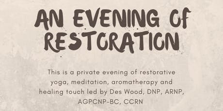 An Evening Mini-Retreat of Restoration for Nurses tickets