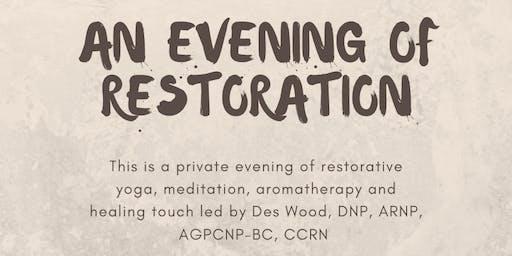 An Evening Mini-Retreat of Restoration for Nurses