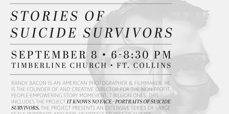 Stories of Suicide Survivors- It Knows No Face tickets