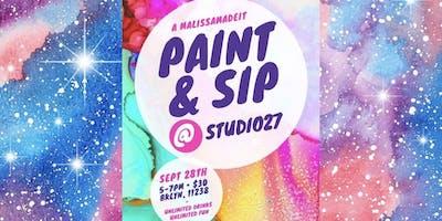 Paint & Sip @ Studio27