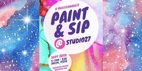 Paint & Sip @ Studio27 tickets