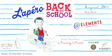 Back to school with l'Apero @one65 tickets