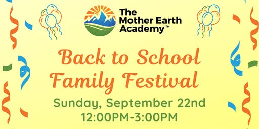 Back to School Family Festival