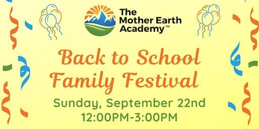 Back to School Family Festival