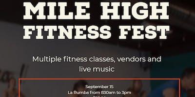 Mile High Fitness Festival September 15, 2019 at la Rumba