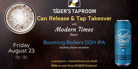 Can Release and Tap Takeover with Modern Times Beer tickets