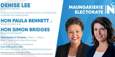 Cocktail Evening with Hon Paula Bennett