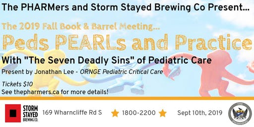 Peds PEARLs and Practice - The 2019 Fall Book & Barrel Meeting