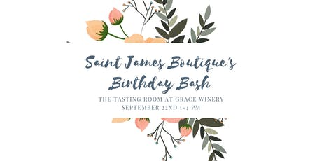 Saint James Birthday Bash tickets