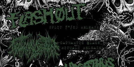 Flashout and Nocturnal Depature album release show tickets