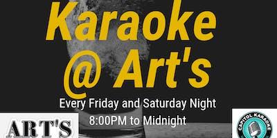 Karaoke at Art's