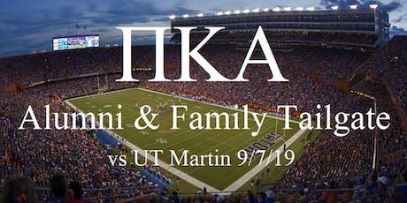 UF Pike Alumni & Family Tailgate-UT Martin Home Game  tickets