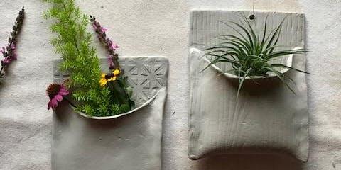 Hand Build a Ceramic Wall Pocket