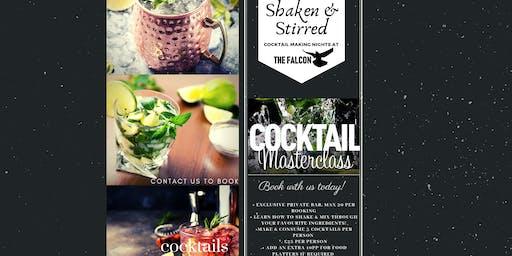 Shaken & Stirred Cocktail Making Night