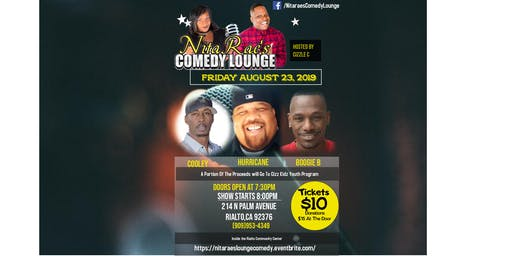FRIDAY NIGHT LIVE COMEDY -NitaRae's Comedy Lounge