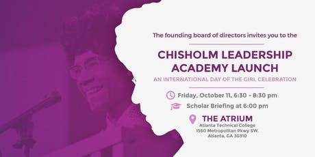 Chisholm Leadership Academy Launch: An International Day of the Girl Event tickets