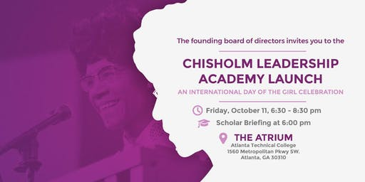 Chisholm Leadership Academy Launch: An International Day of the Girl Event