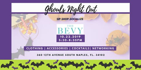 Sip.Shop.Socialize Bevy Ghouls Night Out tickets