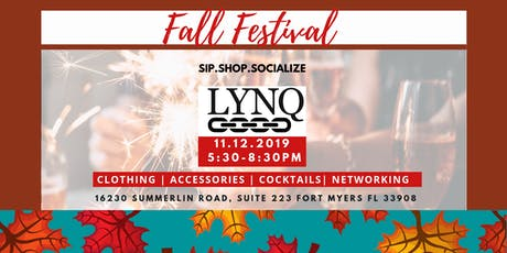 Sip.Shop.Socialize Fall Festival at LYNQ tickets