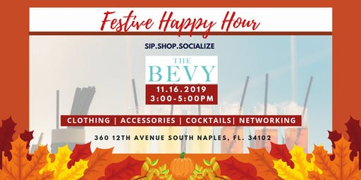Sip.Shop.Socialize Festive Happy Hour