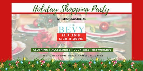 Sip.Shop.Socialize Holiday Shopping Party tickets