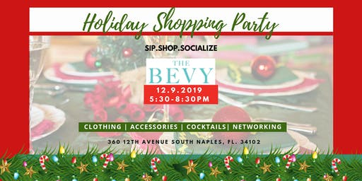 Sip.Shop.Socialize Holiday Shopping Party