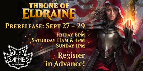 Throne of Eldraine Prerelease tickets
