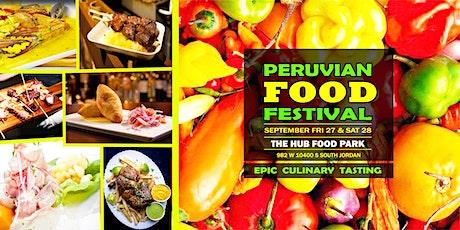 PERUVIAN FOOD FESTIVAL tickets