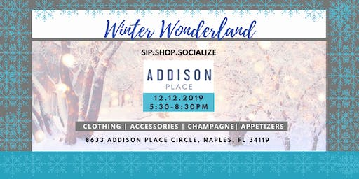 Sip.Shop. Socialize Winter Wonderland at Addison Place