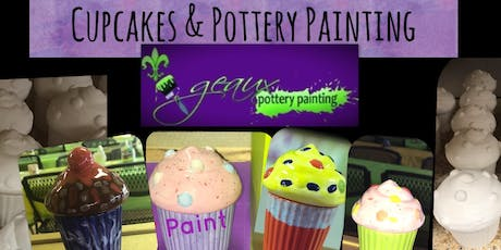 Cupcakes & Pottery Painting  tickets