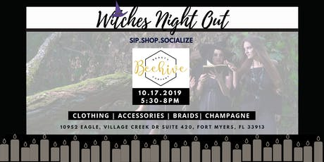 Sip.Shop.Socialize  Witches Night Out at  Beehive Beauty tickets